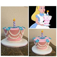 Alice in Wonderland unbirthday cake / santana_bakes