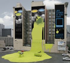 coopspaints billboard ad by nationwide insurance