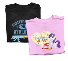Friendship is magic design your own my little pony t shirt at fpgirl