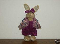 Boyds-Bears-Plush-Hare-Rabbit-Emily-Babbit-Spring-1996