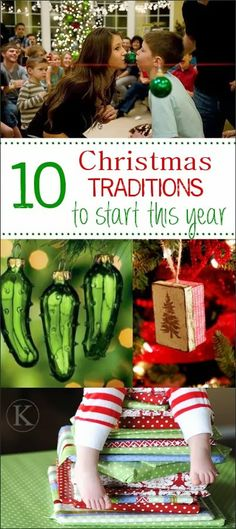 10 Family Christmas Tradition Ideas