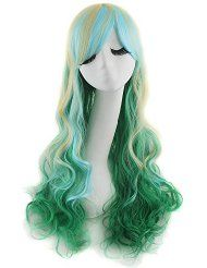 New Woman Long Curly Wigs Fashion Cosplay Costume Anime Hair Wavy Full Wigs Cosplay Hair, Lolita Cosplay, Cosplay Wigs, Anime Cosplay, Curly Wigs, Long Curly Hair, Curly Hair Styles, Hair Wigs, Dreadlock Wig