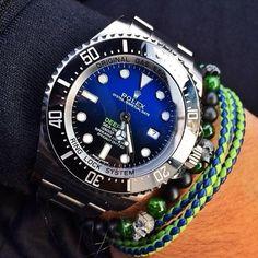 価格.com - ロレックス シードゥエラー ディープシー 116660 [オイスターブレスレット Dブルー] ろれさんさんのレビュー・評価投稿画像・写真「最高の時計アレンジがたくさん出来て最高です。まるで宝石のよう」[199420]