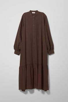 Loose Dress with Sleeves for Women . Loose Dress with Sleeves for Women Ethel Dress Black Dresses & Jumpsuits Muslim Fashion, Modest Fashion, Hijab Fashion, Fashion Outfits, Maxi Shirt Dress, Jumpsuit Dress, Maxi Dresses, Hijab Abaya, Casual Hijab Outfit
