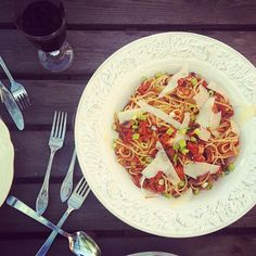 Todays dinner! #pasta #dinner #chili #taste #food #crayfish #yummy - @helenaljunggren- #webstagram