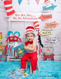 Cat in the Hat (vertical) - 60x80-Cat in the Hat, Birthday Drop