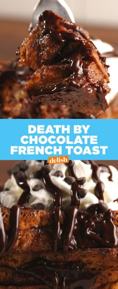 Death By Chocolate French Toast Slays All Other Brunch Dishes