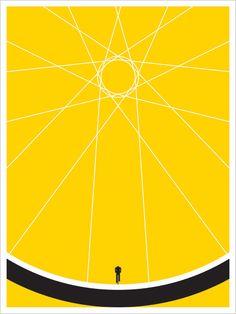 Minimalistic Biker Poster