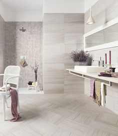 "Emser Tile: Motion Collection ""Cue"" Like large 20x40"" for large shower"