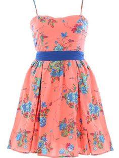 Summer Medley Dress >> LOVE! Cute back to!