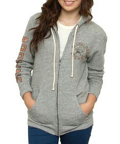 Junk Food Heather Cleveland Browns Hoodie - Women 46c012a82