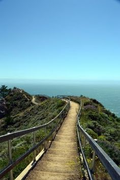 Muir Beach Overlook, California. my personal heaven. feels so at peace here