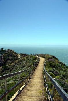 Muir Beach Overlook, California. my personal heaven. feels so at peace here