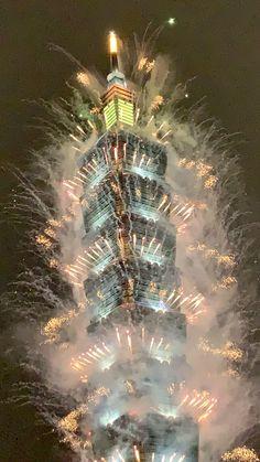 Taipeis Feuerwerk 2021