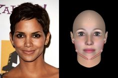 Halle Berry's as Heart-Shaped as a straw-Berry