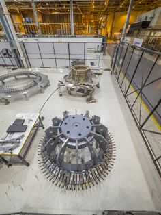 Pieces for the Orion spacecraft that will fly on Exploration Mission 1 are being prepared for welding at the Michoud Assembly Facility in New Orleans, Louisiana.