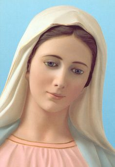 Our Lady of Medjugorje. Blessed Mother Mary, Divine Mother, Blessed Virgin Mary, Mother Mary Images, Images Of Mary, Our Lady Of Medjugorje, Christian Paintings, Lady Of Fatima, Christian Images