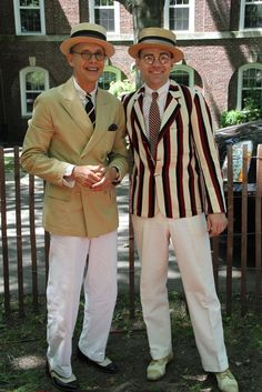 Fancy Fellows at the Jazz Age Lawn Party on Governors Island