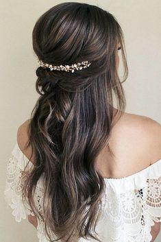 Best Pinterest Wedding Hairstyles Ideas ❤ See more: http://www.weddingforward.com/pinterest-wedding-hairstyles/ #weddingforward #bride #bridal #wedding