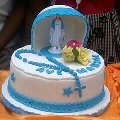 Beautiful cake for Ordination, Vows, or any Catholic occasion