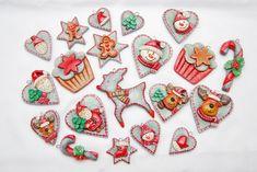 gohart, ozdoby na choinkę z masy solnej, ozdoby choinkowe hend made,masa solna,zawieszki choinkowe z masy solnej, masa solna Boże Narodzenie