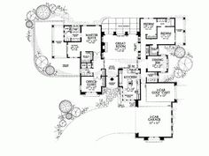 Eplans New American House Plan - Covered Patios - 2471 Square Feet and 4 Bedrooms(s) from Eplans - House Plan Code HWEPL00917