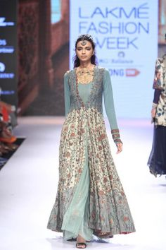 #Lakme India Fashion Winter Festival 2015 #Indian Fashion #Indian Runway #Divya Seth