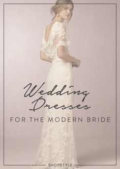 Wedding dresses for the modern bride on ShopStyle
