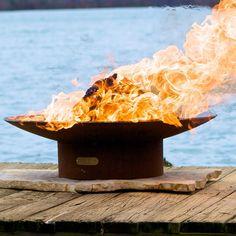 """Fire Pit Art Asia - 36"""" Steel Fire Pit (AS36)"""