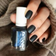Essie Cashmere Matte Collection... This is SPUN IN LUX