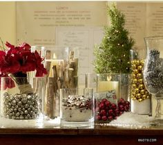 like the clear glass with items showing throughfor any holiday christmas wedding centerpiecesholiday candleschristmas vasesholiday decorchristmas