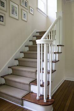 Stair Runner DIY - Room for Tuesday