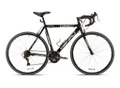 Amazon.com : GMC Denali Road Bike, Black/Green, 20-Inch/Small : Road Bicycles : Sports & Outdoors