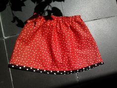 Size 3 - Red Floral Skirt