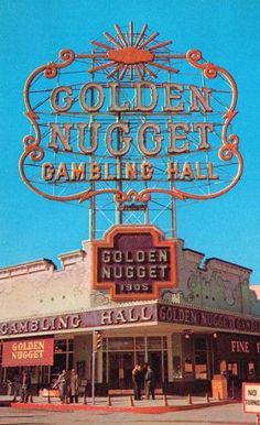 Golden Nugget Las Vegas Casino Postcard by VintageIntent for $5.00