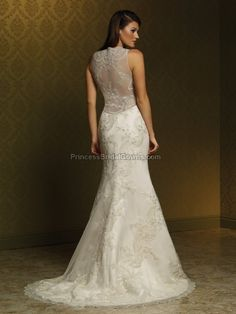 Mia Solano M1061Z - Wedding Dress M1061Z. View more online at www.PrincessBridalGowns.com.
