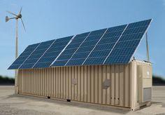 Container SA: 10 Contêineres que Utilizam Energia Solar Limpa