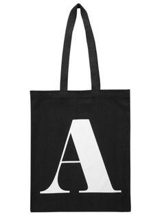 A - Black | Bags | Shop | Alphabet Bags