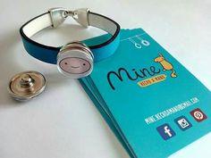 Pulsera con botones intercambiables y personalizadas. Elige botón y combínalo como quieras. #Button #interchangeable #customized #handmade #bracelet #design #snapbutton  www.facebook.com/mine.hechoamano