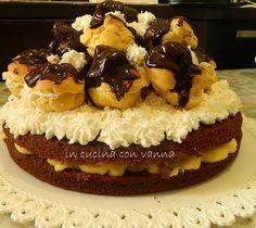 in cucina con vanna: Torta di compleanno: esplosione di bignè dalla cia...