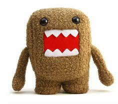 Dylan wants me to help him make a Domo this summer....hmmmmm.