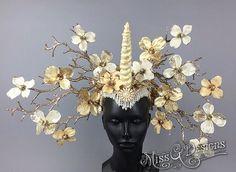 Unicorn Headdress by