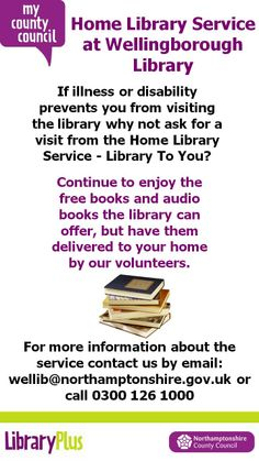 Home Library Service at Wellingborough Library