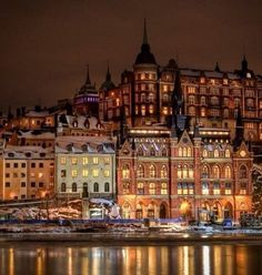 Stockholm, Sweden  #Beautiful #Places #Photography