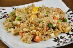 Chinese Fried rice is quite essential and delicious food that tastes just like Chinese restaurants. It is a very quick and easy recipe that takes very little time to cook. Ingredients : 2 cups uncooked rice 2 full cups of water ½ to ¾ cup of chicken stock 1 Ham steaks (cut into cubes) 1/2  #foodrecipe #famousrecipie #healthyrecipe #HoneyChillyPotato #indianfoodrecipes #vegetablerecipie #vegetarianrecipe #chicken recipe #nonvegrecipes #roastchickenrecipe #chinesecooking #chinese fired rice Rice Recipes, Asian Recipes, New Recipes, Chicken Recipes, Cooking Recipes, Healthy Recipes, Ethnic Recipes, Recipies, Chinese Food Restaurant