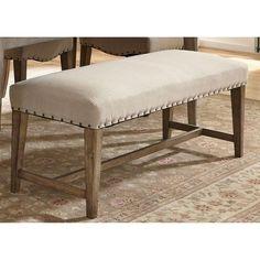 Liberty Furniture Auburn Upholstered Bench - 645-C6501B