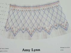 """TJC+-+""""Amy+Lynn"""",+Smocking+Pattern+by+Terry+Collins"""