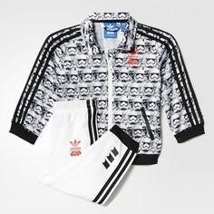 adidas #starwars villain 2 firebird track suit for infant style# ai6916  from $59.95