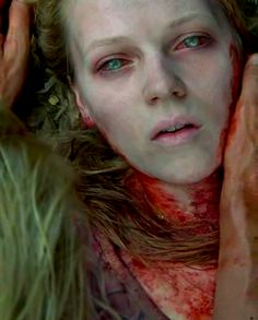 Amy awakened, from The Walking Dead.  The series kind of sucks right now but this moment was perfect.
