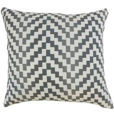 Dhiren Geometric Pillow Zinc
